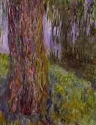 Плакучая ива у пруда - Моне, Клод