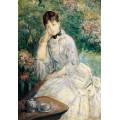 Женщина в саду - Моризо, Берта