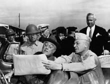 Президент Рузвельт в Кэмп-Шелби