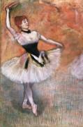 Балерина с тамбурином - Дега, Эдгар