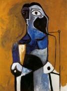 Сидящая женщина, 1960 - Пикассо, Пабло