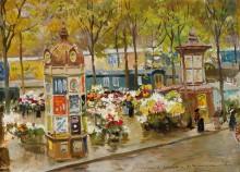 Угол бульвара в Париже, 1904 - Бранкаччио, Карло