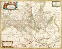 Карта Украины 1681