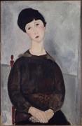 Портрет молодой брюнетки - Модильяни, Амадео