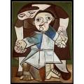 Мать с ребенком (Первые шаги) - Пикассо, Пабло