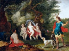 Диана и Актеон - Брейгель, Ян (младший)