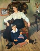 Мари Кока и ее дочь Жильберта - Валадон, Сюзанна