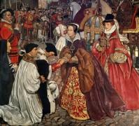 Въезд королевы Марии и принцессы Елизаветы в Лондон - Шоу, Джон Байем Листон