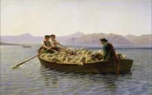 Лодка с овцами - Бонёр, Роза