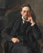 Портрет А.П.Чехова 1898 год - Браз, Осип Эммануилович