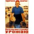 Ударную уборку! 1934 - Ворон