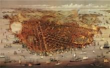 Карта Сан Франциско 1878
