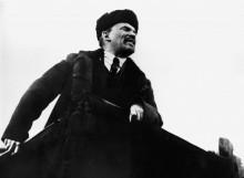 Речь  Ленина на Красной площади 1918 года