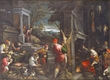 Возвращение блудного сына, 1570 - Бассано, Якопо