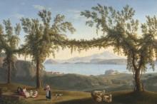 Отдых под виноградной лозой - Хаккерт, Якоб Филипп