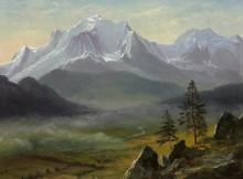 Гора Монблан - Бирштадт, Альберт