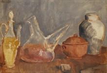 Стеклянная посуда - Пикассо, Пабло