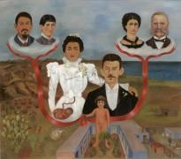 Мои бабушка с дедушкой, родители и я - Кало, Фрида