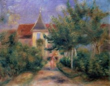 Дом в Живерни - Ренуар, Пьер Огюст