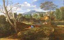 Пейзаж, 1650 - Пуссен, Никола