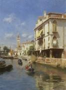 Канал делла Гуэрра, Венеция - Санторо, Рубенс