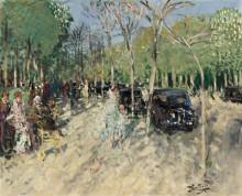 Весна в лесу, 1929 - Монтезен, Пьер-Эжен