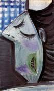 Голова брюнетки, 1943 - Пикассо, Пабло
