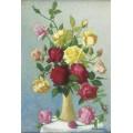 Ваза роз, 1924 - Ложе,  Ашиль