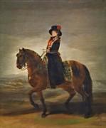 Конный портрет Марии Луизы Пармской - Гойя, Франсиско Хосе де