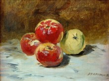 Четыре яблока - Мане, Эдуард
