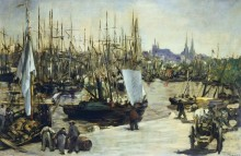 Порт в Бордо - Мане, Эдуард