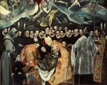 Погребение графа Оргаса, фрагмент - Греко, Эль