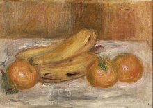Апельсины и бананы - Ренуар, Пьер Огюст