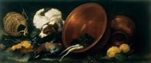 Натюрморт с кухонными принадлежностями - Гуидобоно, Бартоломео