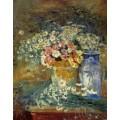 Цветы и китайские вазы, 1896 - Энсор, Джеймс