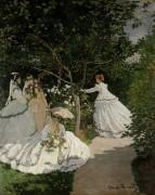 Женщины в саду - Моне, Клод