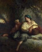 Увещевание - Милле, Жан-Франсуа