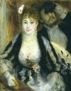 Ложа, 1874 - Ренуар, Пьер Огюст