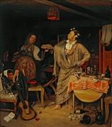 Свежий кавалер (Утро чиновника, получившего первый крестик) - Федотов, Павел Андреевич