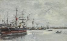 Гавр, Порт, 1883-87 - Буден, Эжен