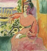 Женщина у окна - Матисс, Анри