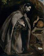 Святой Франциск - Греко, Эль