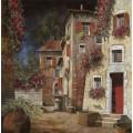 Затененный уголок улицы - Борелли, Гвидо (20 век)