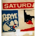Субботний Папай (Saturday's Popeye), 1960 - Уорхол, Энди