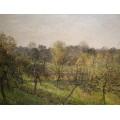 Закат в Эрани, Осень, 1902 - Писсарро, Камиль