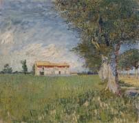 Сельский дом в пшеничном поле - Гог, Винсент ван