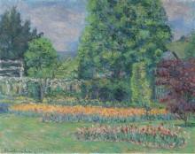 Сад в Живерни, 1927 - Моне, Бланш Ошеде