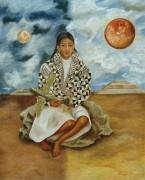 Луча Мария, девочка из Теуакана (Солнце и луна) - Кало, Фрида