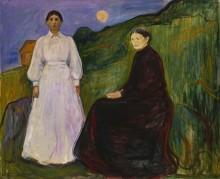 Мать и дочь - Мунк, Эдвард