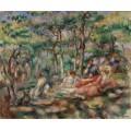 Пикник (Завтрак на траве) - Ренуар, Пьер Огюст